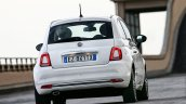 2016 Fiat 500 (facelift) rear unveiled