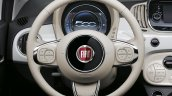 2016 Fiat 500 (facelift) steering wheel unveiled