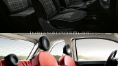 2016 Fiat 500 (facelift) vs 2007 Fiat 500 interior Old vs New