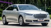 2016 Ford Taurus front three quarter spotted in the flesh post unveil