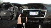 2016 Honda Accord facelift interior press shots