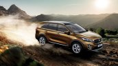 2016 Kia Sorento front three quarter launched in South Africa