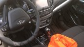 2016 Lada Vesta interior spotted with a touchscreen system