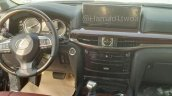 2016 Lexus LX interior spotted in the metal for first time