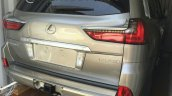 2016 Lexus LX rear quarter spotted in the metal for first time