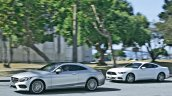 2016 Mercedes C-Class Coupe side from AutoBild