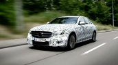 2016 Mercedes E Class front three quarter technical features detailed