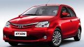 2016 Toyota Etios hatch Brazil