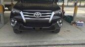 2016 Toyota Fortuner front leaked spyshot