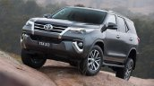 2016 Toyota Fortuner front quarter revealed Australian spec