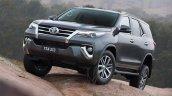 2016 Toyota Fortuner front quarter revealed Australian spec