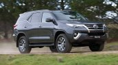 2016 Toyota Fortuner front quarters revealed Australian spec