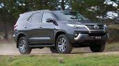 2016 Toyota Fortuner front quarters revealed Australian spec