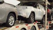 2016 Toyota Fortuner front spied on transporter