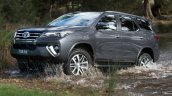 2016 Toyota Fortuner front three quarter revealed Australian spec