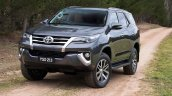 2016 Toyota Fortuner grille revealed Australian spec