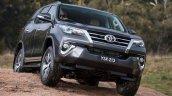 2016 Toyota Fortuner off-road revealed Australian spec