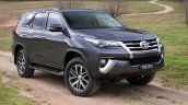2016 Toyota Fortuner profile revealed Australian spec
