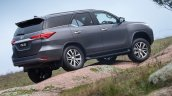 2016 Toyota Fortuner rear quarter revealed Australian spec