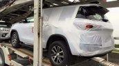 2016 Toyota Fortuner rear quarter spied on transporter