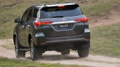 2016 Toyota Fortuner rear revealed Australian spec