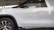 2016 Toyota Fortuner side spied on transporter