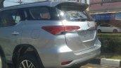 2016 Toyota Fortuner spied Thailand roads