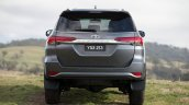 2016 Toyota Fortuner taillights  rear revealed Australian spec