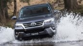 2016 Toyota Fortuner water wading revealed Australian spec
