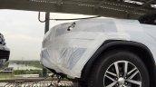 2016 Toyota Fortuner wheel spied on transporter