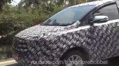 2016 Toyota Innova headlight Mysore spied