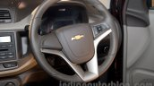 2017 Chevrolet Spin steering wheel unveiled in Delhi