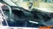 BMW 1 Series sedan dashboard spyshots from China