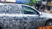 BMW 1 Series sedan side spyshots from China