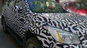 Chevrolet Trailblazer headlight spied in Ladakh