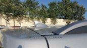 Hyundai Creta SX antenna dealer spied