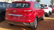 Hyundai Creta SX diesel dealer spied