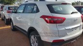 Hyundai Creta SX diesel rear quarter dealer spied