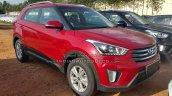 Hyundai Creta SX front dealer spied
