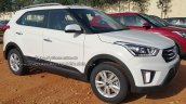 Hyundai Creta SX+ front dealer spied