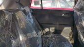 Hyundai Creta SX(O) diesel rear seat dealer spied