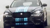Jaguar F-Pace front-end Tour de France promotion image