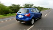 Maruti S-Cross tracking rear Review