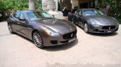 Maserati Quattroporte and Ghibli India reveal