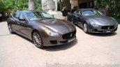 Maserati Quattroporte and Ghibli India reveal