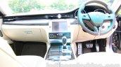 Maserati Quattroporte dashboard India reveal