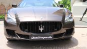 Maserati Quattroporte front India reveal