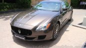 Maserati Quattroporte front quarter India reveal