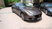 Maserati Quattroporte front quarters India reveal