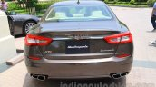 Maserati Quattroporte rear India reveal